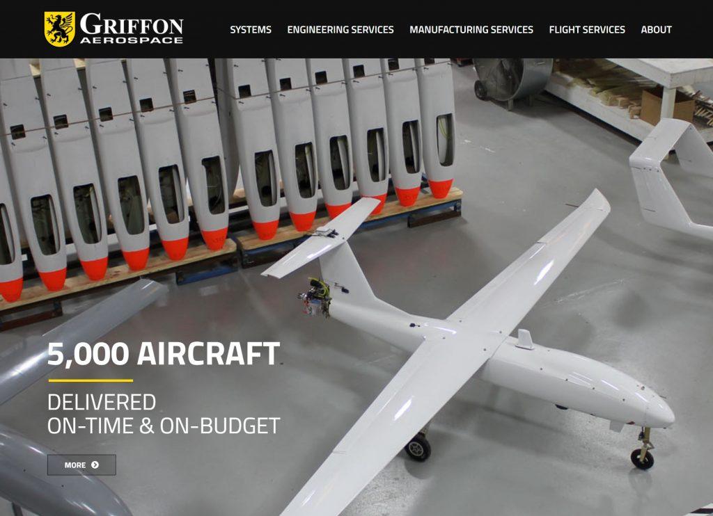 Griffon Aerospace Rolls Out New Website  U2013 Griffon Aerospace